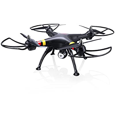 SYMA X8C 2.4G 4CH 6-Axis Gyro Large RC Quadcopter RTF Drone UFO Remote Control Helicopter Aircraft 2.0MP HD Camera With Light