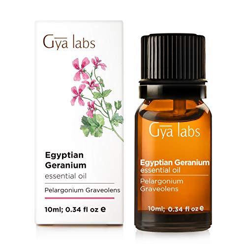 Olio essenziale di geranio - 100% puro grado terapeutico - 10 ml
