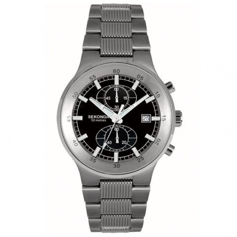 Gents Chronograph Bracelet Watch