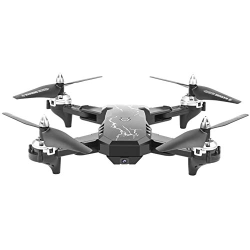 YUnnuopromi Dual HD-Kamera Drohne Optical Flow Positioning Real Time Transmission Remote Quadcopter Toy Schwarz 2.0MP Nano Remote