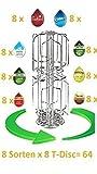Bosch Tassimo Kapselhalter NEU für 64 Stück NEU für 8 Sorten T-Discs
