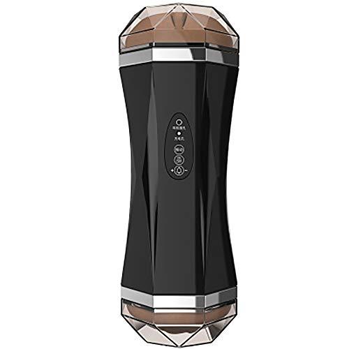 Ginli Tazza per Aereo A Doppia Testa in Silicone 3D Realistico Vagina E Bocca Tasca Tascabile Portatile Estendere Il Tempo di Eiaculazione Giocattoli del Sesso Maschile