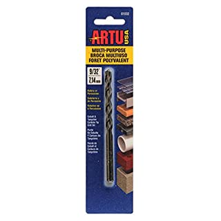 ARTU USA 01030 Multi Purpose Drill Bit, 1/4-Inch x 4-1/4-Inch