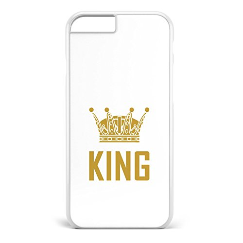 *King & Queen weiss / Pärchen Handyhülle | Apple iPhone 5 6 7 Galaxy S5 S6 S7, Hülle:Design 3, Handy:Apple iPhone 7 Plus*
