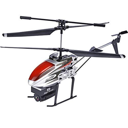 jfhrfged 2,4 GHz 3.5CH RC 1080 P WiFi Kamera FPV RC Hubschrauber Quadcopter Drone Hover Für Kinder Und Anfänger (Rot)