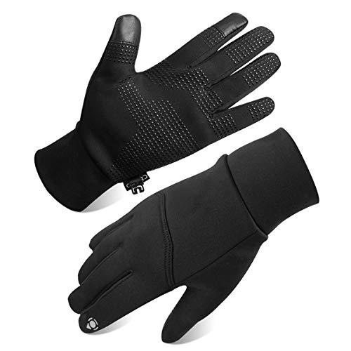 Opard Touchscreen Handschuhe Unisex Winter Warme Fleece Innenfutter Handschuhe Wasserdicht Rutschfestes Abriebfest Arbeit Sport Outdoor Motorrad Radfahren Mountainbike (S) Nylon-winter-handschuhe