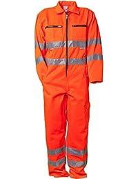 """Planam Rallyekombi """"Warnschutz"""", Größe 58 in orange, 1 Stück, 2031058"""