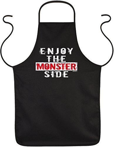 ze für Halloween - Enjoy the Monster Side - Gruseliger Kittel ()