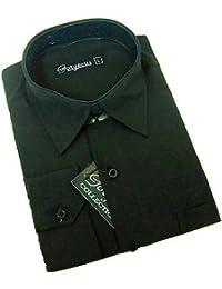Camisa para niños, color Negro, de 6meses–15años