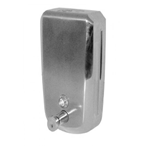 Spender für Seife Soap Dispenser Edelstahl 800cc (0,8Liter) medial