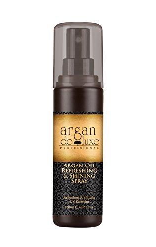 Argan deluxe olio di argan rinfrescante e lucente, spray cura con protezione solare, 120ml, cura per capelli premium