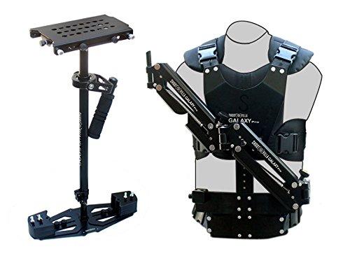 shootvilla hd-5000Stabilisator mit Galaxy Pro Dual Arm & Body Weste Steadycam System (sv-gpva-hd-5000) für Video DSLR Kameras | gratis Zubehör