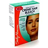 Sally Hansen Crème décolorante extra forte - Bras/Jambes/Visage (Boîte de 6)