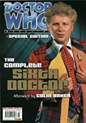 DOCTOR WHO MAGAZINE - SPECIAL EDITION #3 - THE COMPLETE SIXTH DOCTOR - 22nd JANUARY 2003