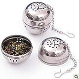 Noradtjcca Sacchetto condimento in Acciaio Inox Forniture da Cucina Lampadina Zuppa di tè Palla Spice Caldo alogena Filtro Palla Cucina Gadget