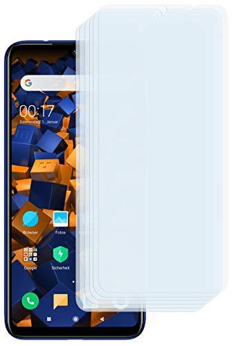 mumbi Schutzfolie kompatibel mit Xiaomi Redmi Note 7 Folie klar, Bildschirmschutzfolie (6x)