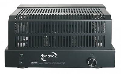 Dynavox VR-70E II Amplificateur intégré à tubes Noir (Import Allemagne) de Dynavox