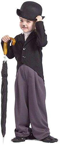 Kinder Kostüm mit kleinen charly 152 cm 11/13 Jahren (Charlie Chaplin Kostüm Kinder)