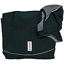 manduca by mam 199–41–13–002Deluxe Cover, Lluvia Cover, One size, Storm Cloud, Negro