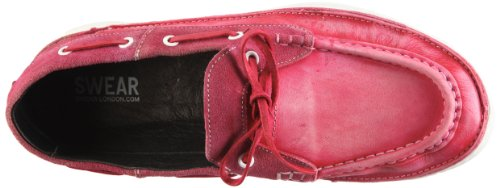 Swear Duke9 Natural, Mocassins homme Rouge-TR-L-1-23