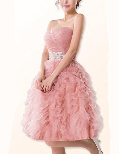 Lactraum LF4165 Brautjungfernkleid Ballkleid Abendkleid Abschlussball Kleider Hochzeitskleider...