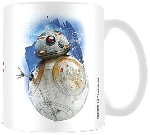 Star Wars: Die letzten Jedi bb-8Brushstroke Becher aus Keramik, mehrfarbig