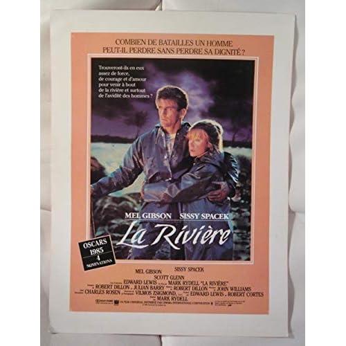 Dossier de presse de La rivière (1985) – 24x32cm - Film de Mark Rydell avec Mel Gibson, Sissi Spacek – Photos couleurs et N&B - Synopsis – Très bon état.