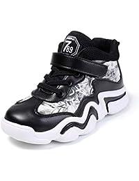 VITIKE Kind-Basketballturnschuhe Sport-Schuh-Ineinander Greifen Breathable Kursteilnehmer-Basketball-Schuhe Anti-Rutsch Laufschuhe