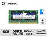 Timetec Hynix IC 8GB DDR3 PC3-14900 1866MHz Apple iMac 17,1 w/Retina 5K display (27-inch Late 2015) A1419 (EMC 2834) MK462LL/A, MK472LL/A, MK482LL/A (8GB)