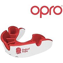 Protector Bucal Para Niños OPRO Self-Fit GEN 3 Junior Silver Para rugby, hockey, artes marciales mixtas - Garantía dental de hasta 7.500 € - Fabricado en Reino Unido (England Rugby)