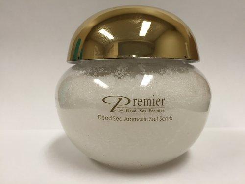 Dead Sea Premier Aromatic Body Salt Scrub Gold Cap 425gr