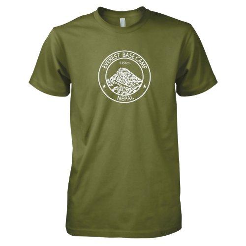 TEXLAB - Everest Base Camp Nepal - Herren T-Shirt Oliv