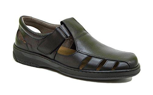 Sandalias Hombre de Piel Confort 24 Horas Fabricada en Espa a con Pieles 100 Naturales Disponibles Desde la Talla 39 hasta l