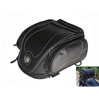 Alchemy Parts & Accessories Motorrad Rückseitige Tasche 12 Liter Hochleistung Erweiterbar