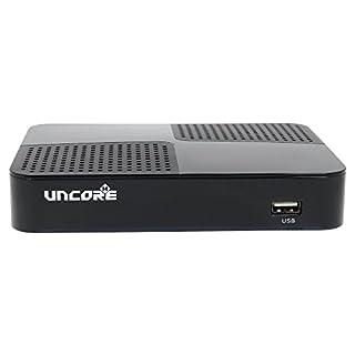 Uncorex 4K Android Digital Satelliten Receiver - Smart TV Box, 4K Ultra HD mit HDR und Dolby Plus, HDMI 2.0 mit CEC, Android 6.0 Marshmallow, KODI, Dual WiFi/LAN