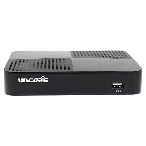 Uncorex 4K Android Digital Satelliten Receiver - Smart TV Box, 4K Ultra HD mit HDR und Dolby Plus, HDMI 2.0 mit CEC, Android 6.0 Marshmallow, KODI, Dual WiFi/LAN Digital-tv-box