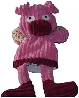 Babynat Babynat Babynat - Doudou Babynat Baby'nat marionnette patchwork BN683 cochon rose - 6535 | Paris  07ee7e