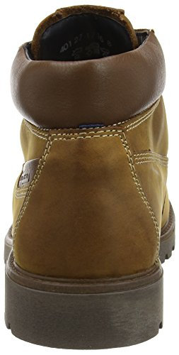 camel active Outback GTX 27 Herren Kurzschaft Stiefel Gelb (cinnamon/bison 01)