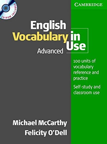 English Vocabulary in Use Advanced (South Asian Edition) [With CDROM] by Michael McCarthy (2015-05-01)