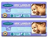 Lansinoh HPA Lanolin For Breastfeeding Mothers, 40 Grams (Pack Of 2) 80 Grams...
