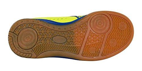 REECE Wave Chaussures de Hockey d'Intérieur Hall Vert/bleu enfants grün-royal
