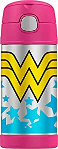Thermos Funtainer 12 Ounce Bottle, Wonder Woman