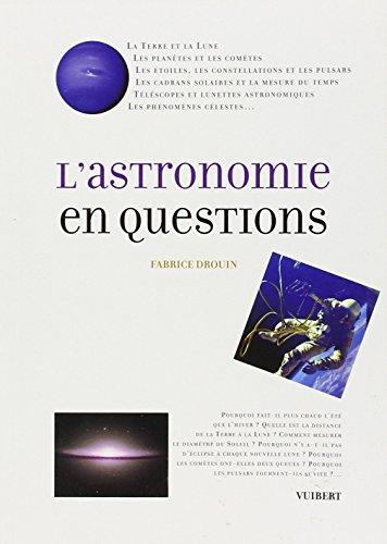 L'astronomie en questions