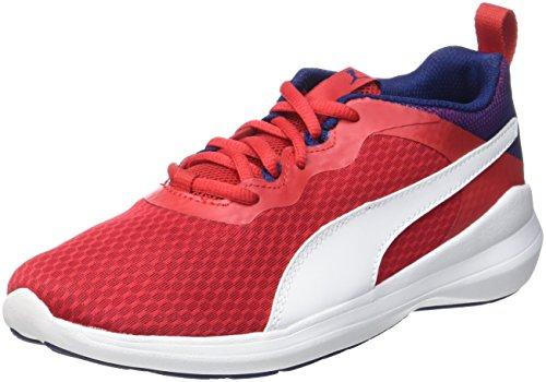 Puma Unisex-Kinder Pacer Evo Jr Sneaker, Rot (Toreador-White), 39 EU