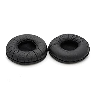 Replacement Ear Pads Pillow Earpads Foam Cushions Cover Repair Parts for TELEX AIRMAN 750 Aviation Headset (Black)