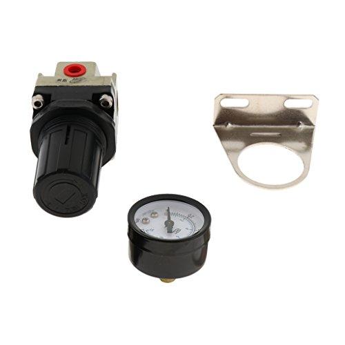 B Blesiya Luft Quellbehandlung Gas AR 2000 Druckregler für Druckluft Werkzeug Kompressorr -