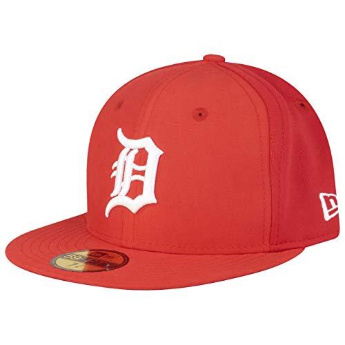 New Era Sport Pique 59Fifty Cap Detroit Tigers Rot, Size:7 1/4
