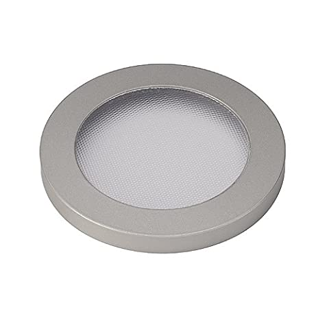 SLV 152444 DECORATIVE RING with structured DIFFUSOR for ENOLA_C series, round, silvergrey, Aluminium, silver, , ,