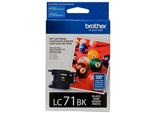 Price comparison product image Brother Innobella LC71BK - ink cartridges (Black, MFC-J280W, MFC-J425W, MFC-J430w, MFC-J435W, MFC-J625DW, MFC-J825DW, MFC-J835DW)