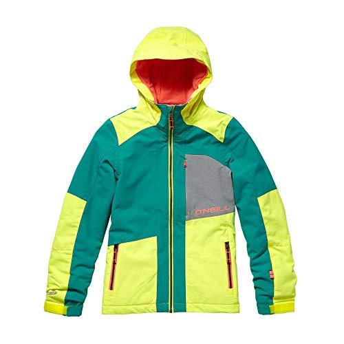 O'Neill Mädchen Kinder Snowboard Jacke Cascade Jacket Girls, Spring Grass, 152 (Snowboard-jacke Für Kids)